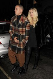 Ashlee Simpson and Evan Ross Night Out in London 2018/11/07 2
