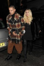 Ashlee Simpson and Evan Ross Night Out in London 2018/11/07 5