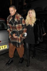 Ashlee Simpson and Evan Ross Night Out in London 2018/11/07 6