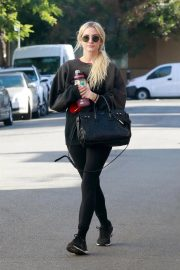 Ashlee Simpson Leaves a Gym in Studio City 2018/11/13 4