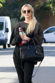 Ashlee Simpson Leaves a Gym in Studio City 2018/11/13 7