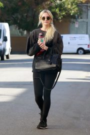 Ashlee Simpson Leaves a Gym in Studio City 2018/11/13 8
