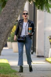 Ashley Benson Out for Coffee in West Hollywood 2018/11/05 2
