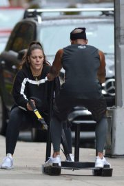 Ashley Graham Working Out in New York 2018/11/03 1