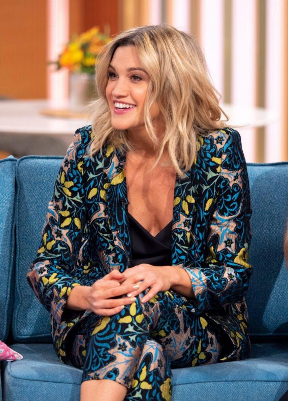 Ashley Roberts at This Morning Show in London 2018/11/21 1
