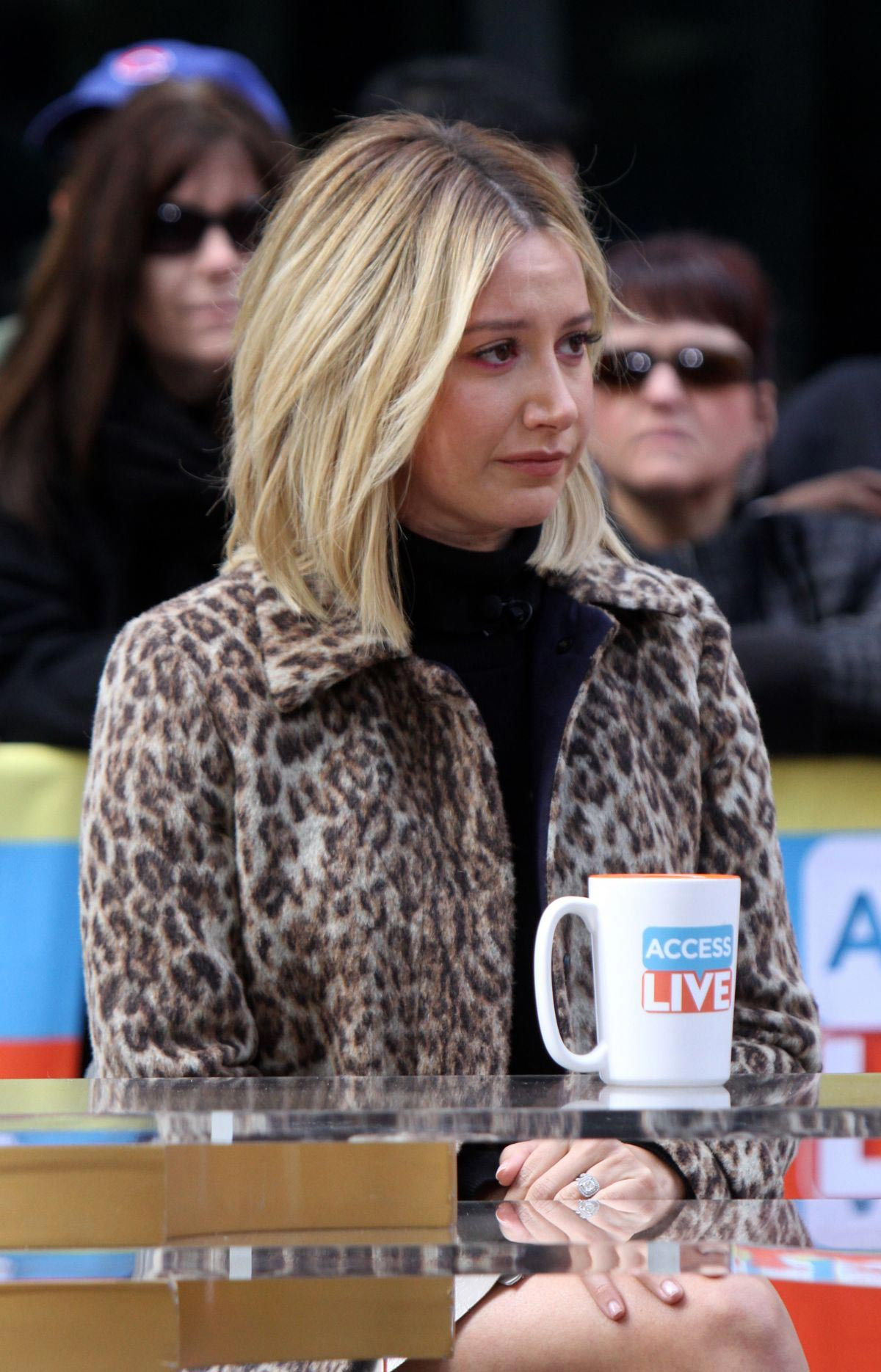 Ashley Tisdale at Access Live in New York 2018/11/12 1