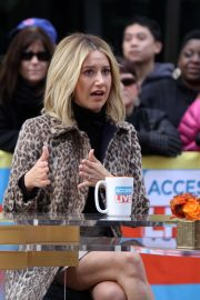 Ashley Tisdale at Access Live in New York 2018/11/12 4
