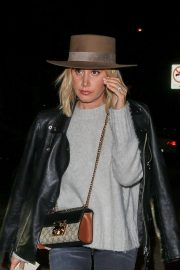 Ashley Tisdale at Craig's Restaurant in West Hollywood 2018/11/06 7
