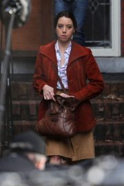 Aubrey Plaza on the Set of Child's Play Reboot in Vancouver 2018/11/03 4