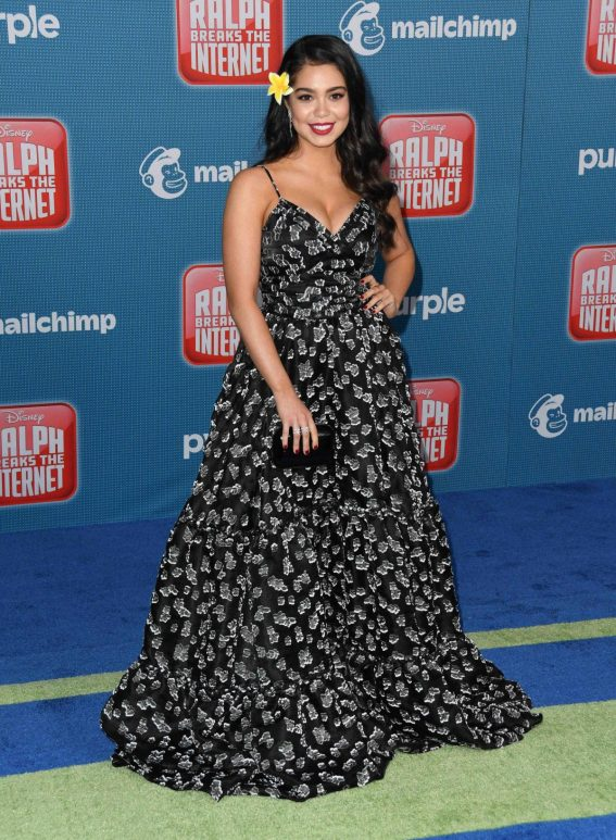 Auli'i Cravalho at Ralph Breaks the Internet Premiere in Hollywood 2018/11/05 1