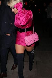 Bebe Rexha Night Out in London 2018/11/23 5