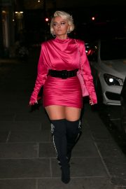 Bebe Rexha Night Out in London 2018/11/23 6