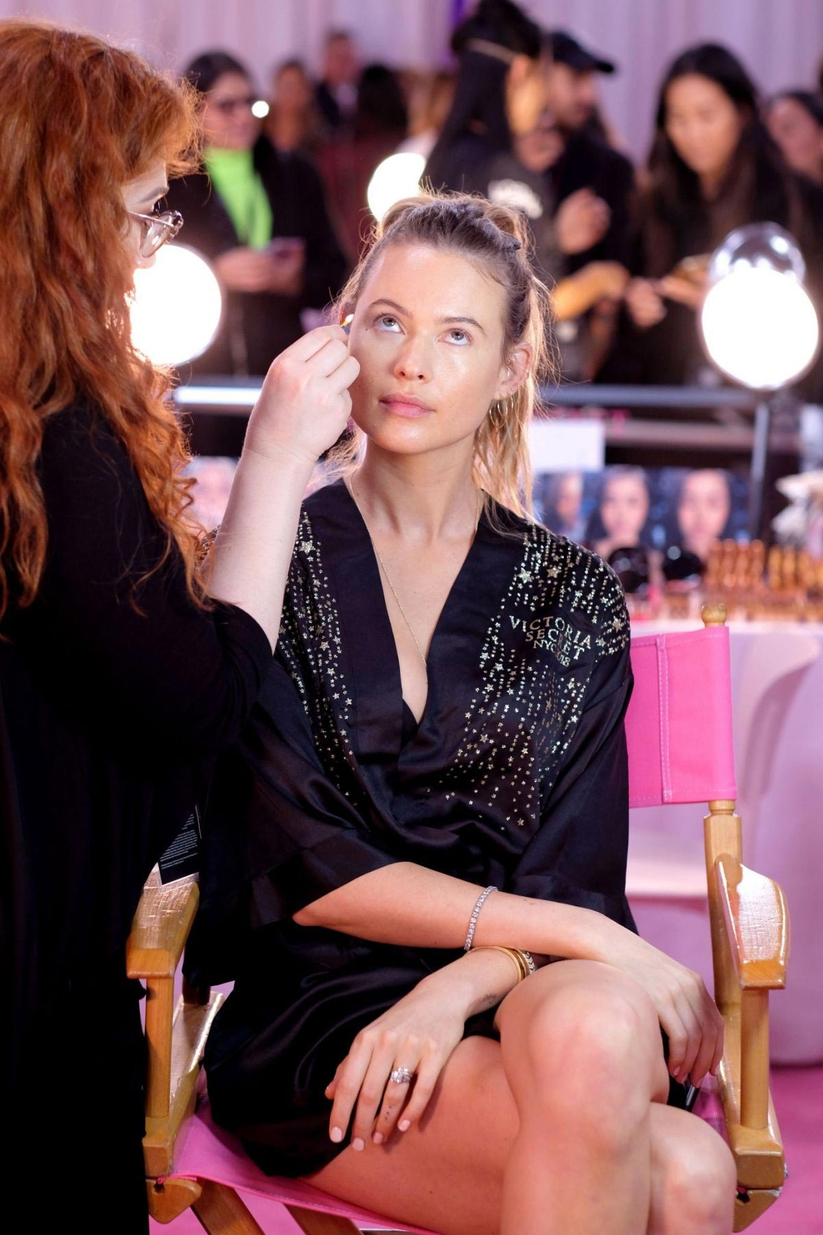 Behati Prinsloo on the Backstage of Victoria's Secret Fashion Show in New York 2018/11/08 5