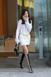 Bella Hadid at Victoria's Secret Fashion Show Fittings in New York 2018/11/03 3