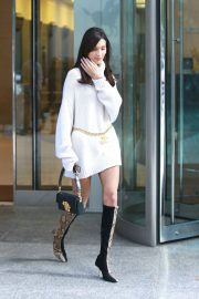 Bella Hadid at Victoria's Secret Fashion Show Fittings in New York 2018/11/03 5