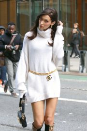 Bella Hadid at Victoria's Secret Fashion Show Fittings in New York 2018/11/03 6