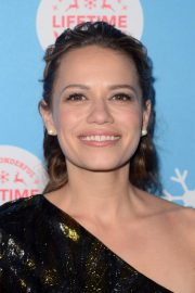 Bethany Joy Lenz at Gingerbread House Experience in Los Angeles 2018/11/14 4