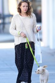 Bethany Joy Lenz Out with Her Dog in Los Angeles 2018/11/22 3