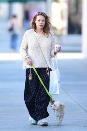 Bethany Joy Lenz Out with Her Dog in Los Angeles 2018/11/22 8