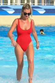 Billie Faiers in Swimsuit at a Water Park in Dubai 2018/11/02 2