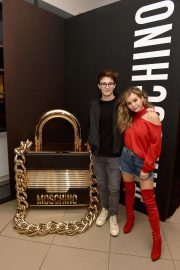 Brec Bassinger at Moschino x H&M Launch Party in Los Angeles 2018/11/07 1