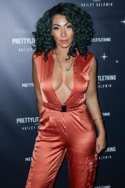 Bridget Kelly at PrettyLittleThing Starring Hailey Baldwin Event in Los Angeles 2018/11/05 3