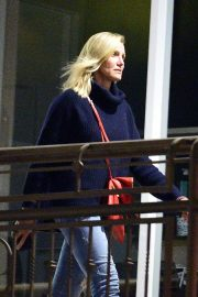 Cameron Diaz Leaves a Restaurant in Los Angeles 2018/10/20 1