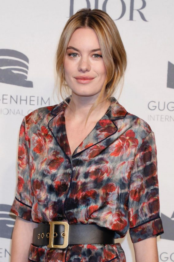 Camille Rowe at Guggenheim International Gala Pre-party in New York 2018/11/14 1
