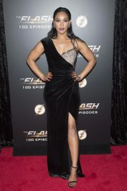 Candice Patton at The Flash 100th Episode Celebration in Los Angeles 2018/11/19 2