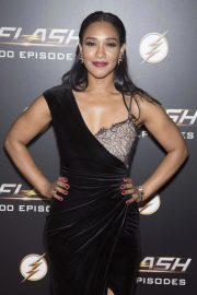 Candice Patton at The Flash 100th Episode Celebration in Los Angeles 2018/11/19 3