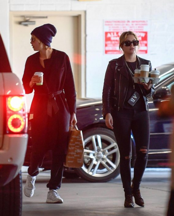Cara Delevingne and Ashley Benson at Erewhon in Los Angeles 2018/11/04 1