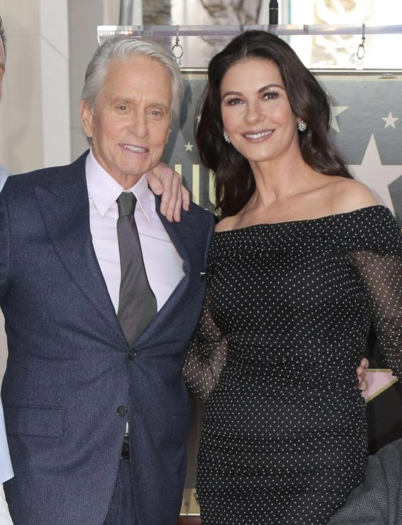 Catherine Zeta-Jones at Michael Douglas Hollywood Walk of Fame Ceremony in Hollywood 2018/11/06 1
