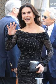 Catherine Zeta-Jones at Michael Douglas Hollywood Walk of Fame Ceremony in Hollywood 2018/11/06 10