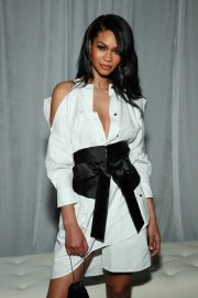 Chanel Iman at CFDA/Vouge Fashion Fund 15th Anniversary in New York 2018/11/05 2