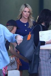 Charlize Theron on the Set of Regyn Kelly and Roger Ailes Project in Los Angeles 2018/10/31 1