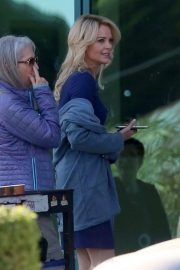 Charlize Theron on the Set of Regyn Kelly and Roger Ailes Project in Los Angeles 2018/10/31 2