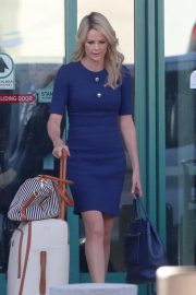 Charlize Theron on the Set of Regyn Kelly and Roger Ailes Project in Los Angeles 2018/10/31 4