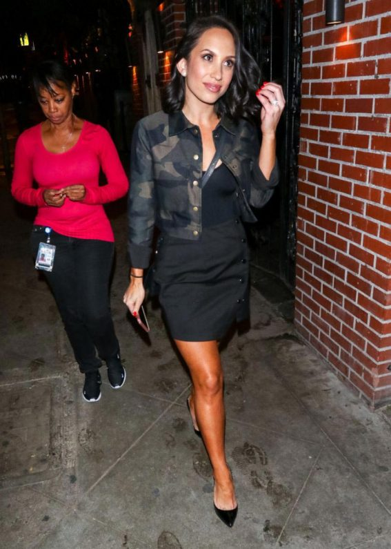 Cheryl Burke at Abbey Nightclub in West Hollywood 2018/11/19 1