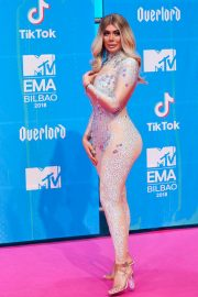 Chloe Ferry at MTV European Music Awards 2018 in Bilbao 2018/11/04 1
