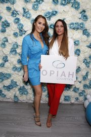 Chloe, Lauryn and Amelia Goodman at Chloe Goodman's New Cosmetics Collection with Opiah Launch in Brighton 2018/11/14 2