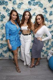 Chloe, Lauryn and Amelia Goodman at Chloe Goodman's New Cosmetics Collection with Opiah Launch in Brighton 2018/11/14 7
