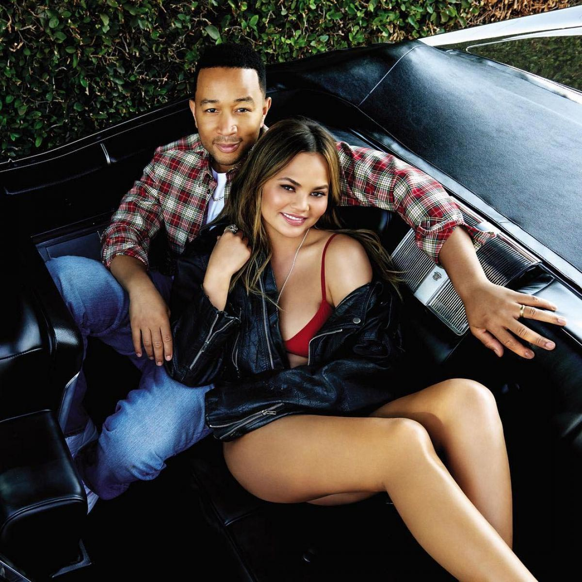 Chrissy Teigen and John Legend in You Magazine, November 2018 1
