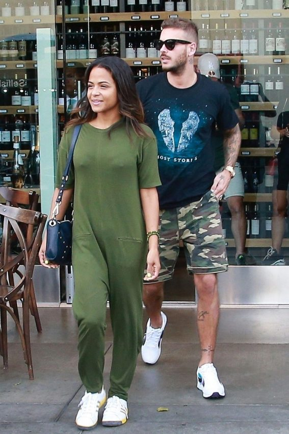 Christina Milian and Matt Pokora Out in Los Angeles 2018/11/15 1