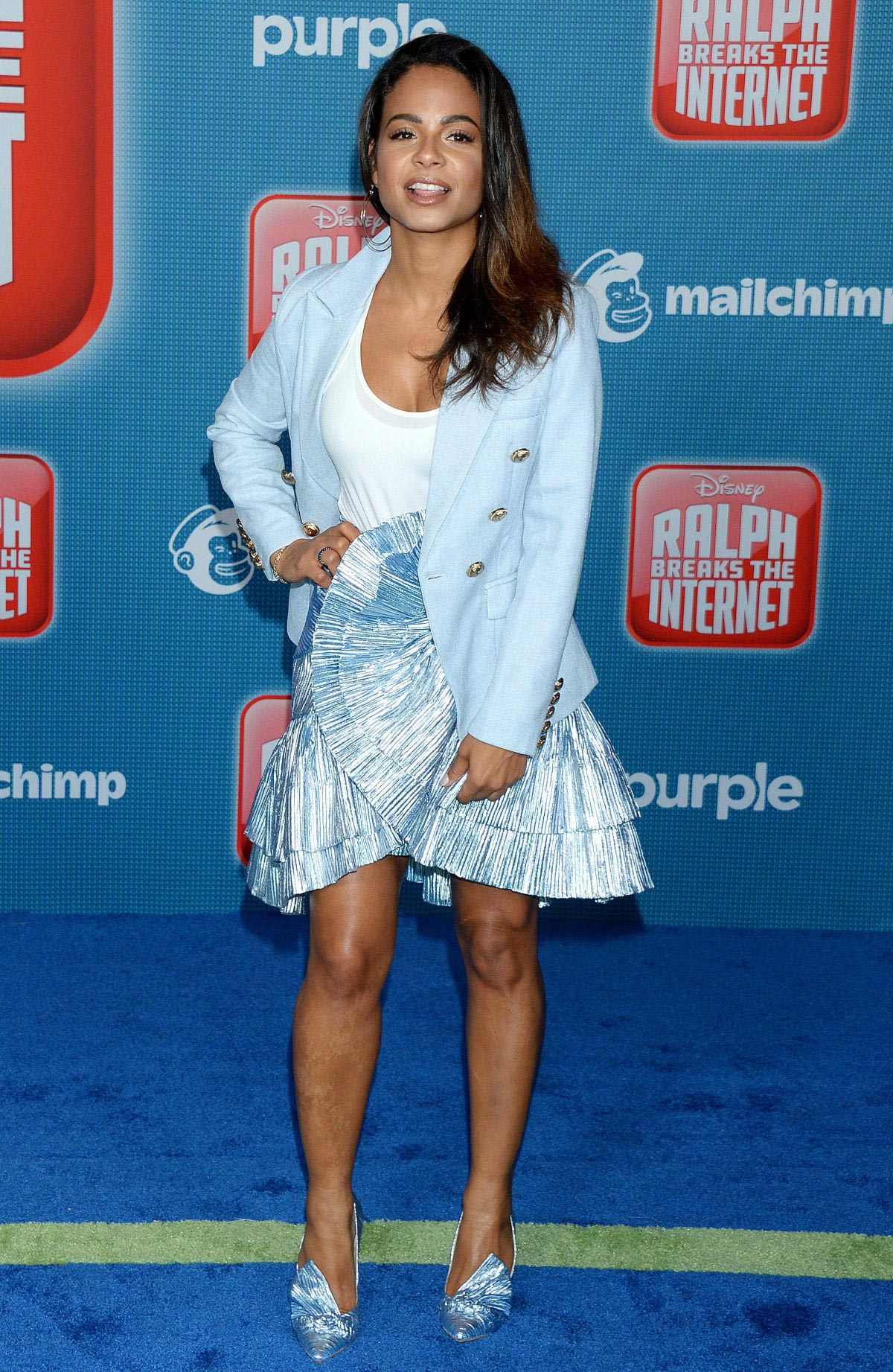 Christina Milian at Ralph Breaks the Internet Premiere in Hollywood 2018/11/05 11