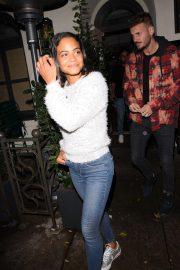Christina Milian Leaves Madeo Restaurant in Beverly Hills 2018/11/21 2