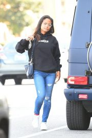Christina Milian Out in Los Angeles 2018/11/16 2