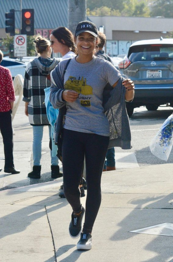 Christina Milian Out Shopping at Farmer's Market in Los Angeles 2018/11/18 1