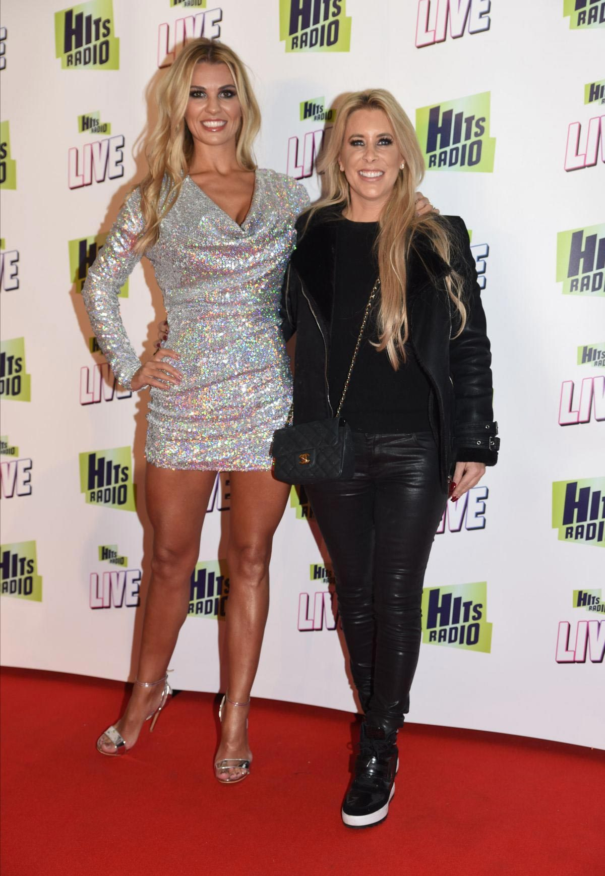 Christine McGuinness and Rachel Lugo at Hits Radio Live in Manchester 2018/11/25 1