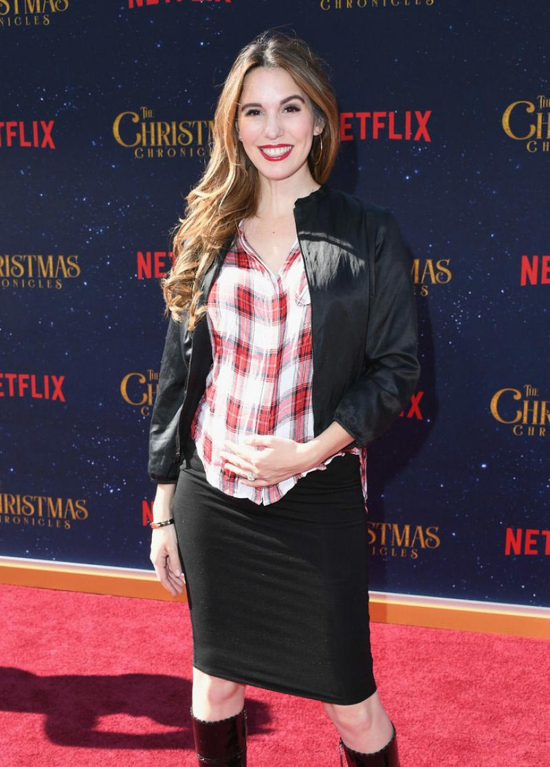 Christy Carlson Romano at The Christmas Chronicles Premiere in Los Angeles 2018/11/18 1