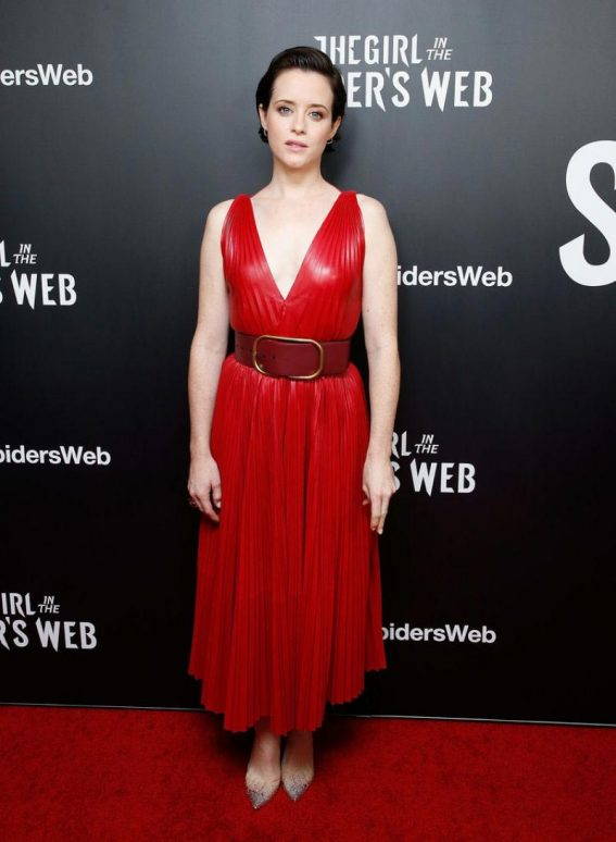 Claire Foy at The Girl in the Spider's Web Screening in New York 2018/11/04 1